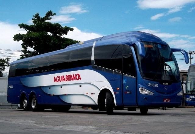 Ônibus Águia Branca, os ônibus da Águia Branca saem da Rodoviária de Vitória/ES - foto fonte Google