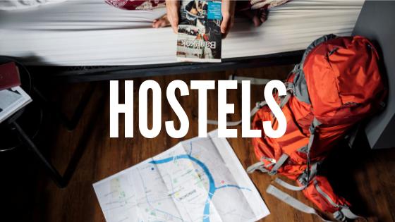 Estou compartilhando os Hostels que já me hospedei e seus prós e contras.