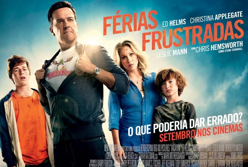 Filme Férias Frustadas Netflix.