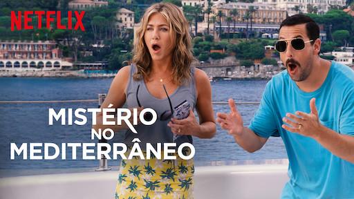 Filme Mistério no Mediterrânio - Netflix